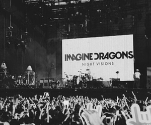 imagine dragons, concert, and music image