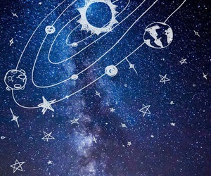 wallpaper, space, and stars image