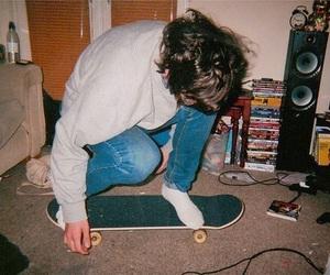 boy, skate, and indie image