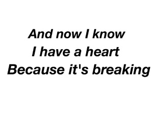 heart, heartbroken, and quote image