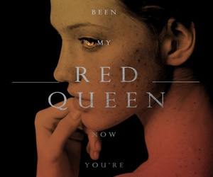 book, livro, and red queen image