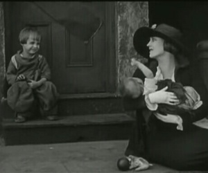 charles chaplin, children, and love image