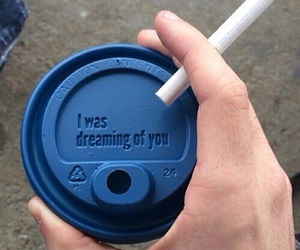 coffee, cigarette, and grunge image
