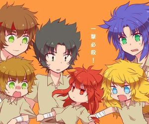 anime, Saint Seiya, and gold saints image