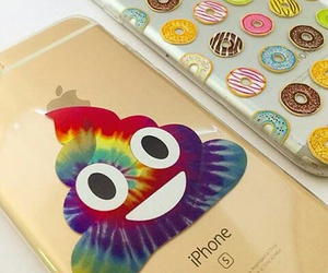case, donuts, and iphone image