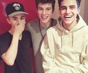 shawn mendes, jack gilinsky, and jack johnson image