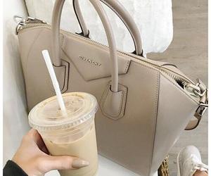 bag, Givenchy, and coffee image
