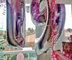 balloons, birthday, and perfect image