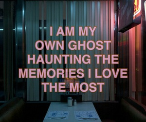 quotes, memories, and ghost image