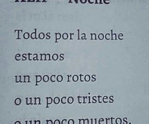 night, frases, and rotos image