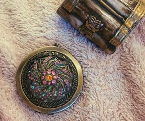 antique, mirror, and pretty image
