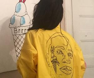 yellow, aesthetic, and grunge image