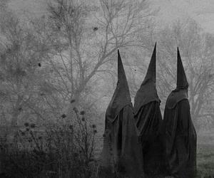 coven, dark, and black image