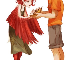 tyson, Ella, and percy jackson image