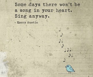 bird, sing, and motivational image