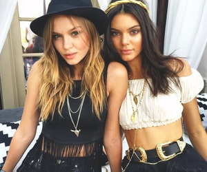 kendall jenner, model, and coachella image