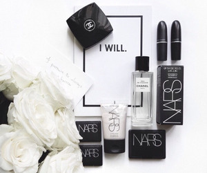 nars, white, and flowers image
