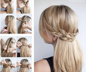hair, hairstyle, and coiffure image