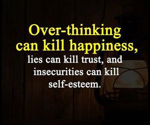 happiness, kill, and lies image
