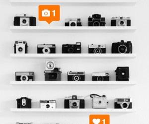 black and white, camera, and grunge image