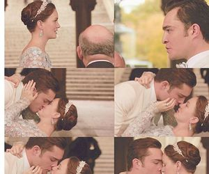 blair waldorf, chuck and blair, and gossip girl image