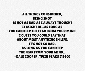 quote, quotes, and Twin Peaks image