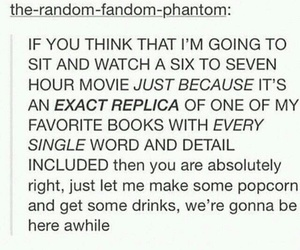 books, movies, and tumblr image