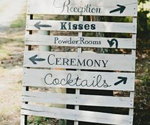 pallet signs, pallet sign boards, and pallet wedding ideas image