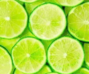 green and limes image