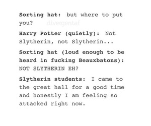 funny, harry potter, and slytherin image
