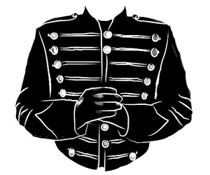 my chemical romance, b&w, and the black parade image