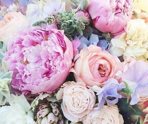 flowers, beauty, and bouquet image