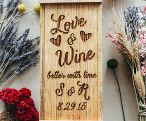 etsy, weddings, and wine image