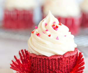 red velvet, sprinkles, and sweets image