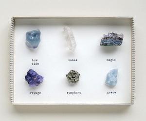 stone, crystal, and magic image