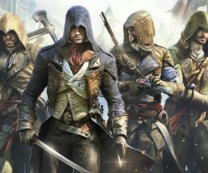 assassin's creed, game, and unity image