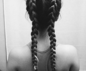 Barcelona, blonde, and braids image