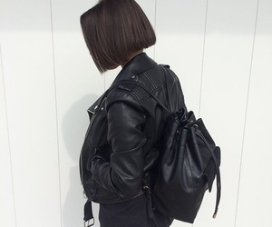 backpack, black, and grunge image