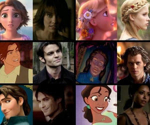 disney, tvd, and the vampire diaries image
