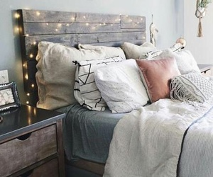 bedroom, bed, and home image