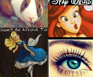 beauty, disney, and eyes image