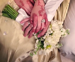 henna, wedding, and orientale image