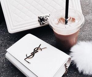 coffee, YSL, and bag image