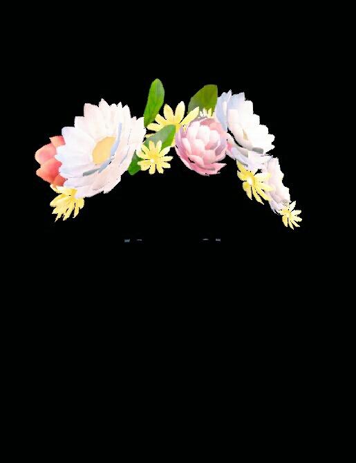 Filter Snapchat Flower Transparent Overlay Edit