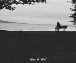die, alone, and sad image