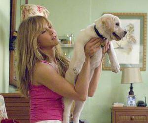 actress, marley and me, and dog image