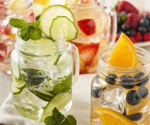 FRUiTS, water, and detox image
