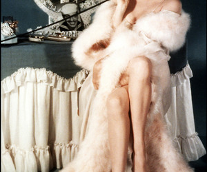 legs, Marilyn Monroe, and robe image