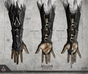 assassin's creed, game, and hidden blade image