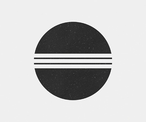 black, geometric, and minimalist image